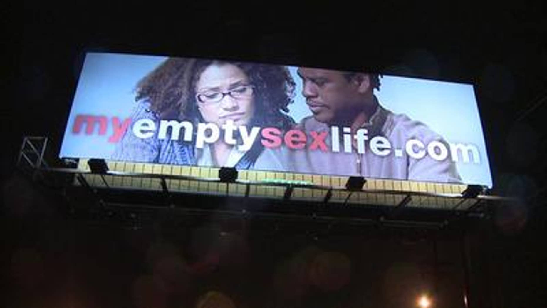 An Indiana church is behind the myemptysexlife.com billboards.