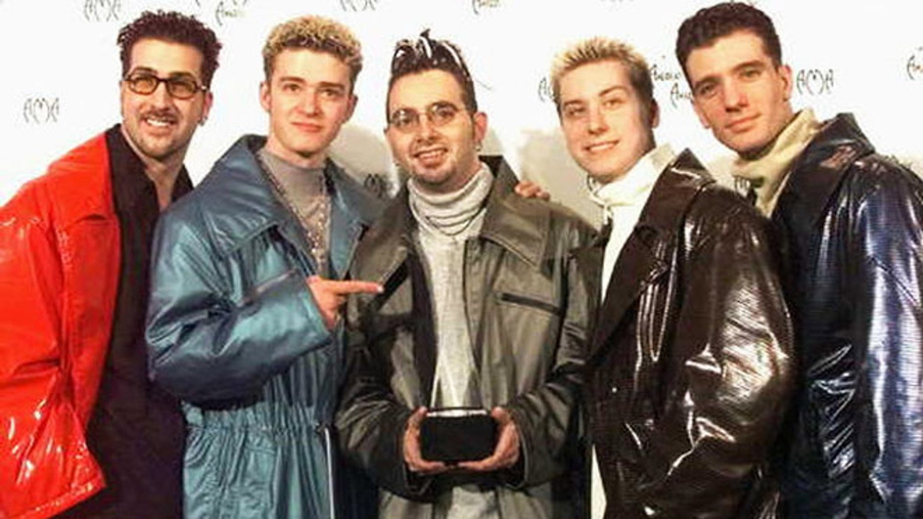 Perhaps Timberlake did not want to be reminded of how he once dressed. Understandable.