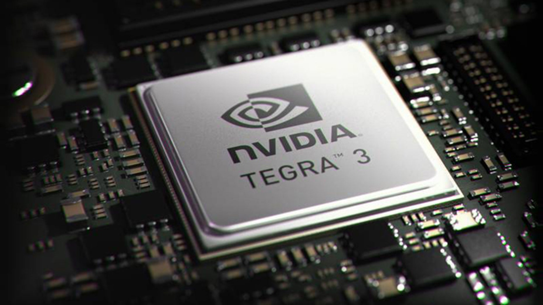 Nov. 8, 2011: The new four-core Tegra 3 chip from nVidia promises faster tablet computing in the future.