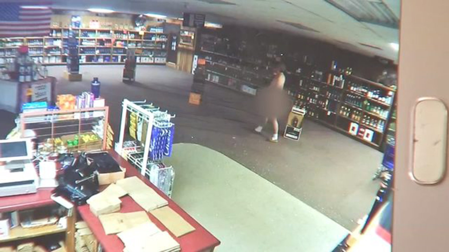 A naked man in Georgia used a hammer to break into a liquor store, but only stole a single Coke.