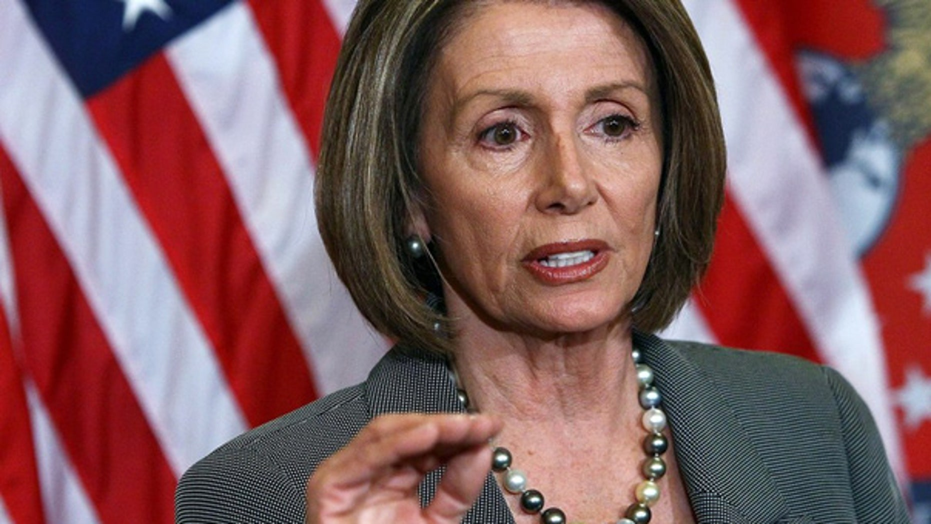 Mar. 4: Speaker of the House Nancy Pelosi answers questions during a press conference at the U.S. Capitol.
