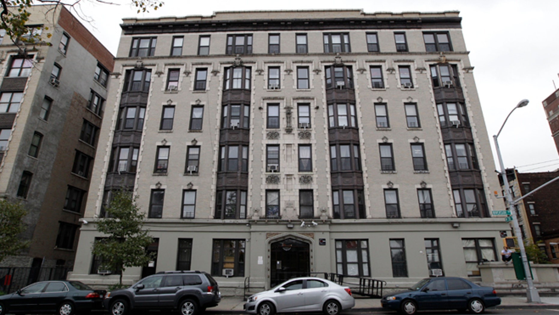 Oct. 26, 2012: The building where Yoselyn Ortega lives is photographed in New York.