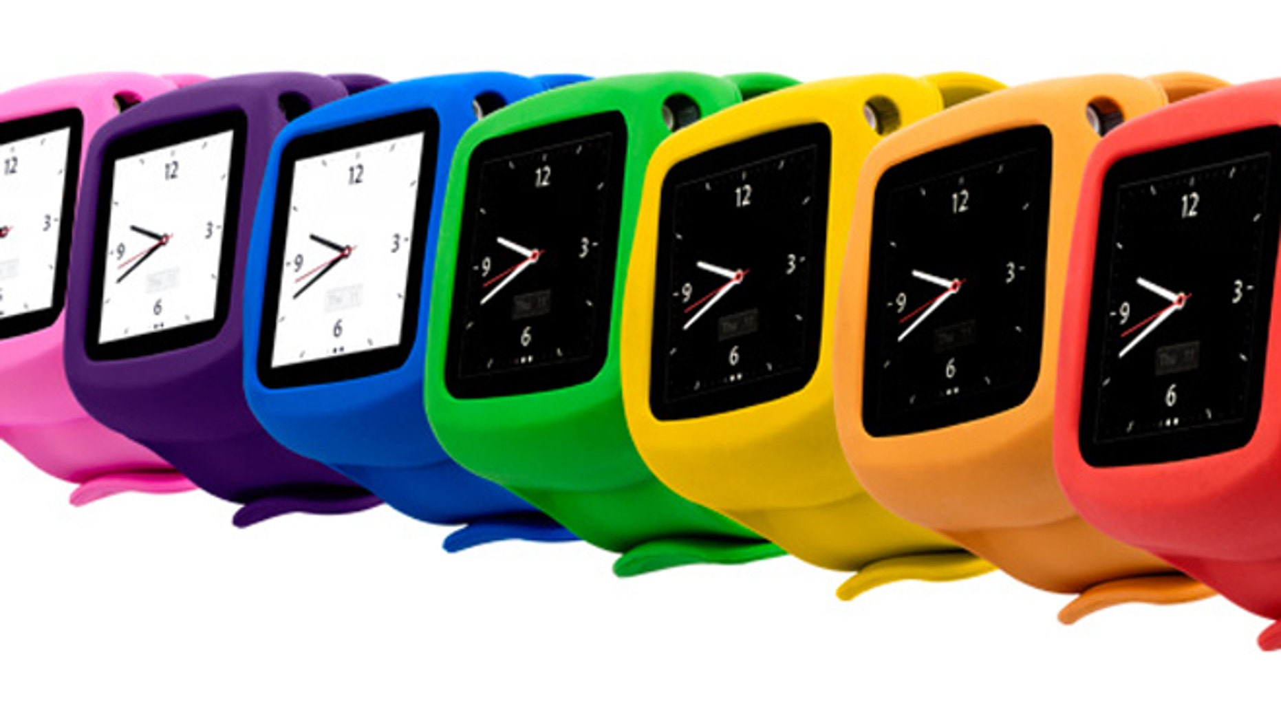 The Nano Slap watch by Griffin Technology turns an old iPod into an iWatch. Will Apple's rumored device look something like it?