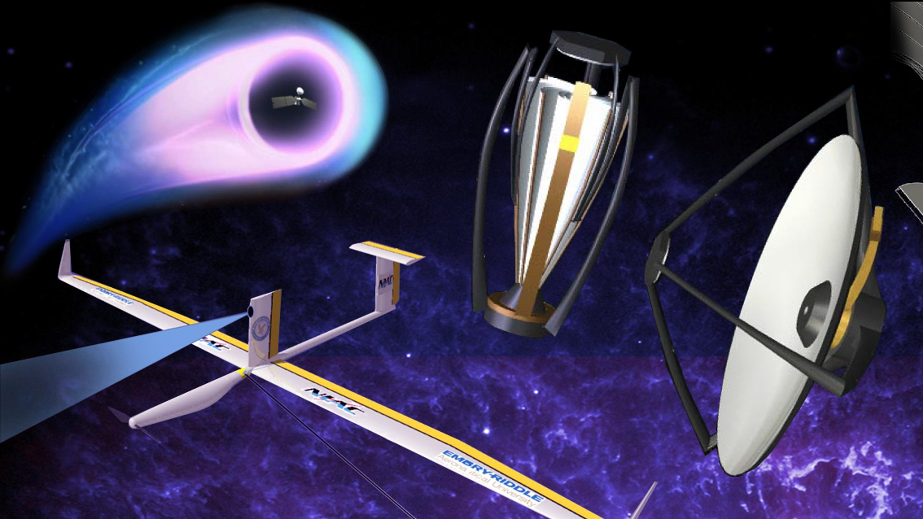 Eight studies have received funding under Phase 2 of the NASA innovative Advanced Concepts program, including a proposal to blast tiny spacecraft to other star systems using powerful lasers.