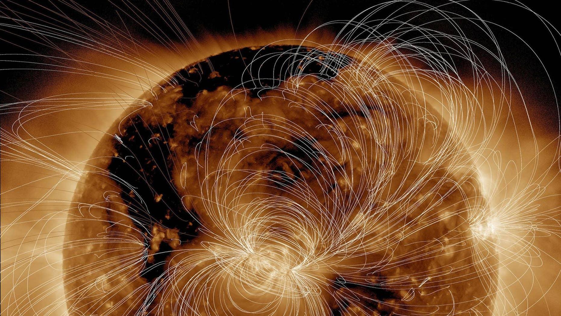 (Credit: NASA/GSFC/Solar Dynamics Observatory)