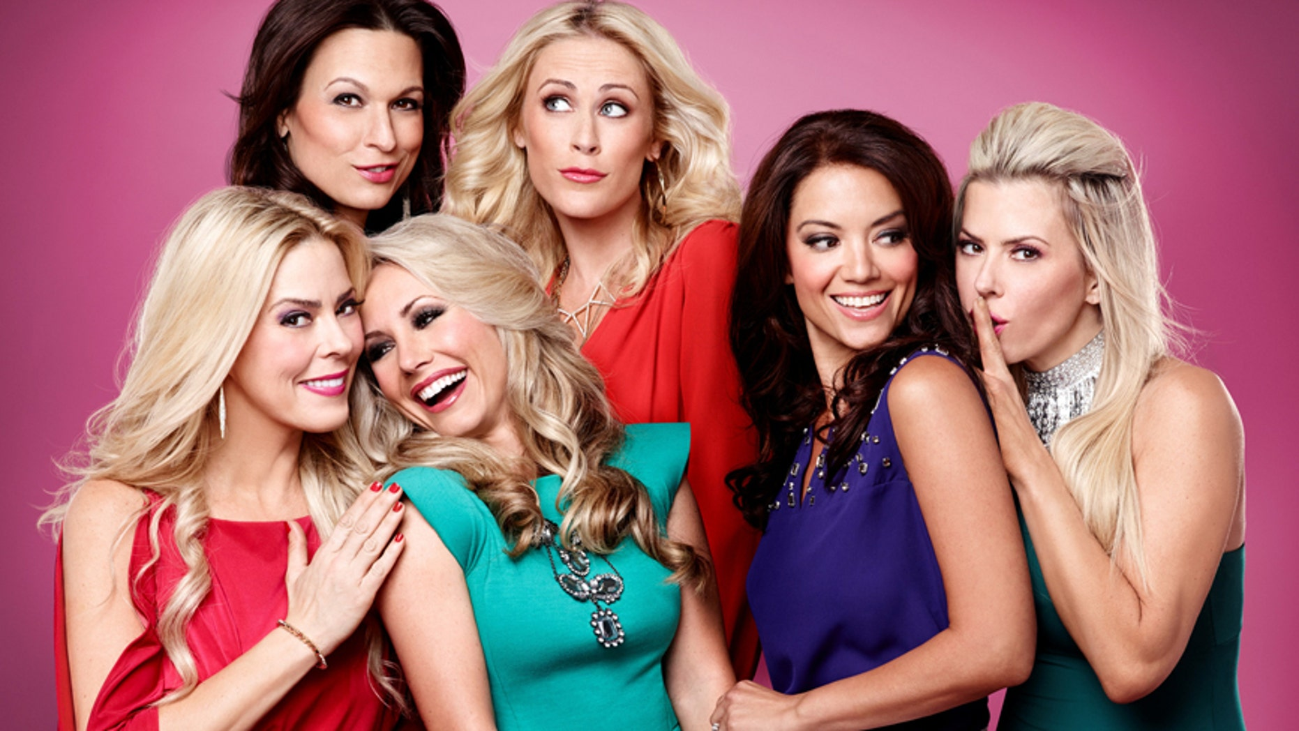 """""""Private Lives of Nashville Wives Betty"""" (left to right) Betty, Jenny, Cassie, Sarah, Erika and Ana."""