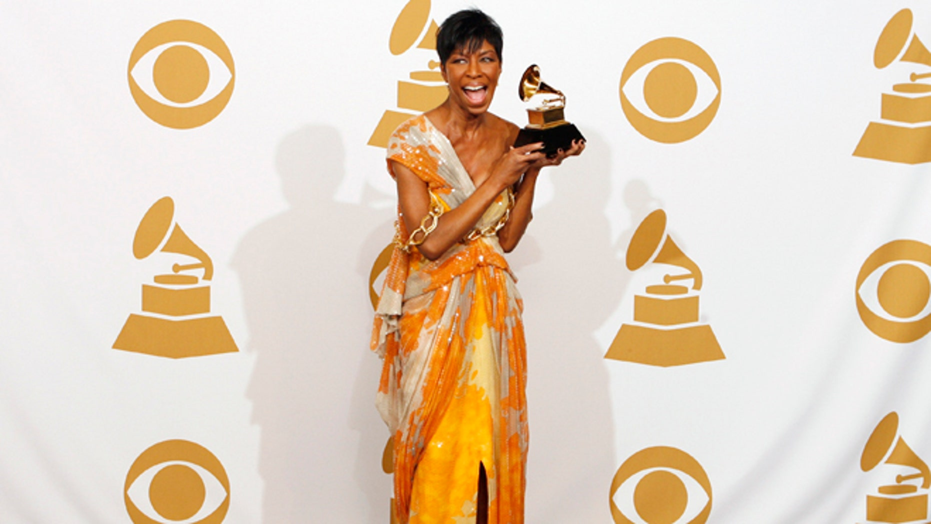 February 8, 209. Natalie Cole at the 51st annual Grammy Awards in Los Angeles.