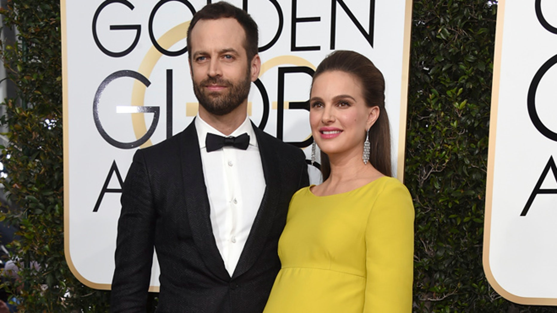 Natalie Portman and husband Benjamin Millepied welcomed daughter Amalia on Feb. 22.