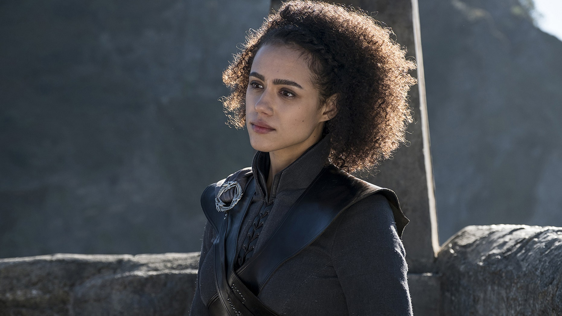 'Game of Thrones' actress Nathalie Emmanuel teased a mind-blowing finale to the show.