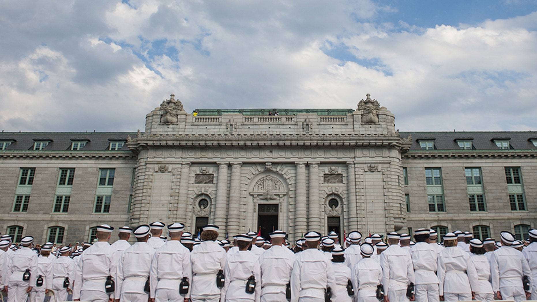 The Navy is investigating allegations of a drug ring at the U.S. Naval Academy in Annapolis, Md.