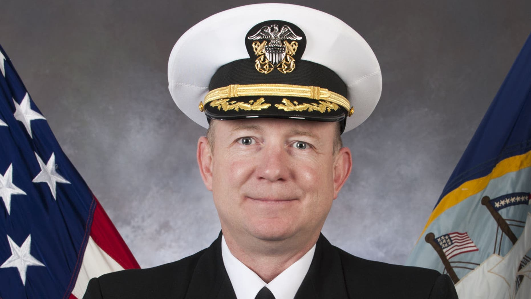 Capt. Brian Sorenson, the former commanding officer of the USS Anzio.