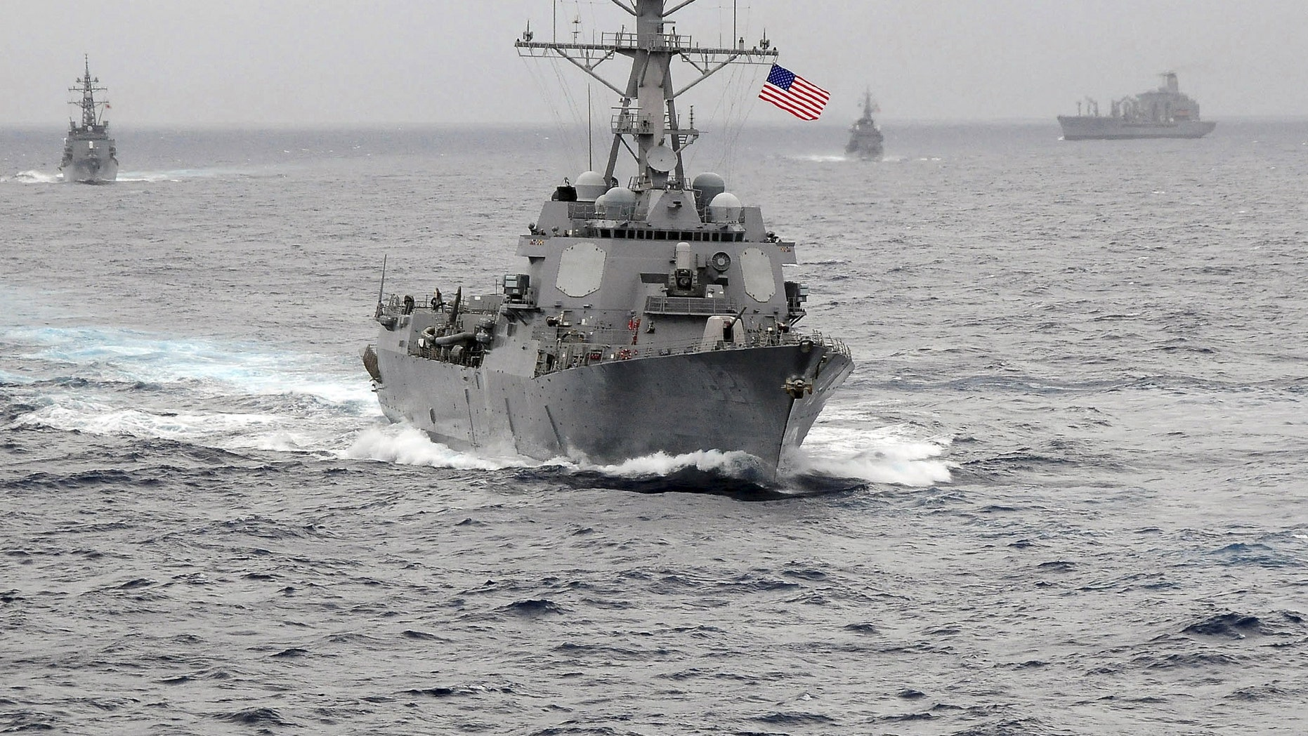 File photo - The US Navy guided-missile destroyer USS Lassen. (US Navy/CPO John Hageman/Handout via Reuters/File Photo)