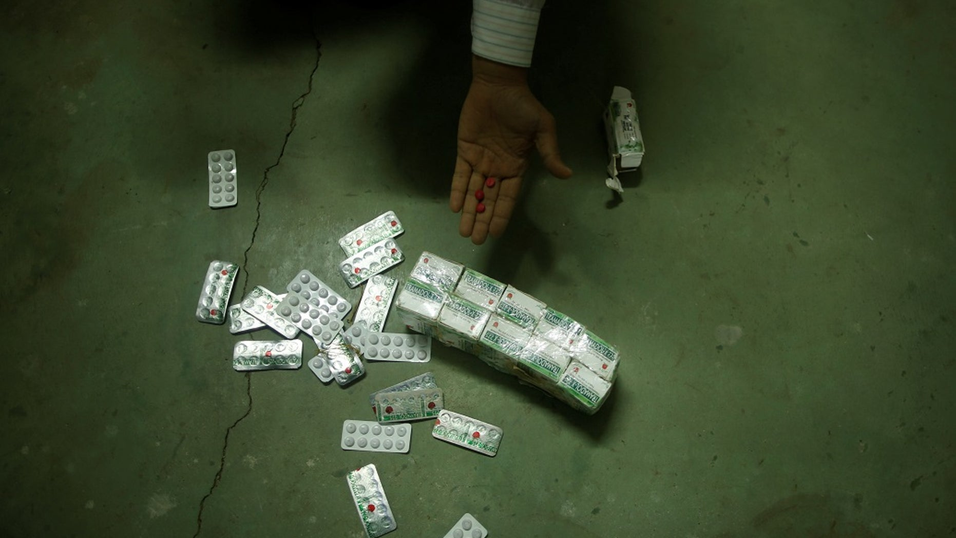 A British woman was jailed for bringing tramadol into Egypt.