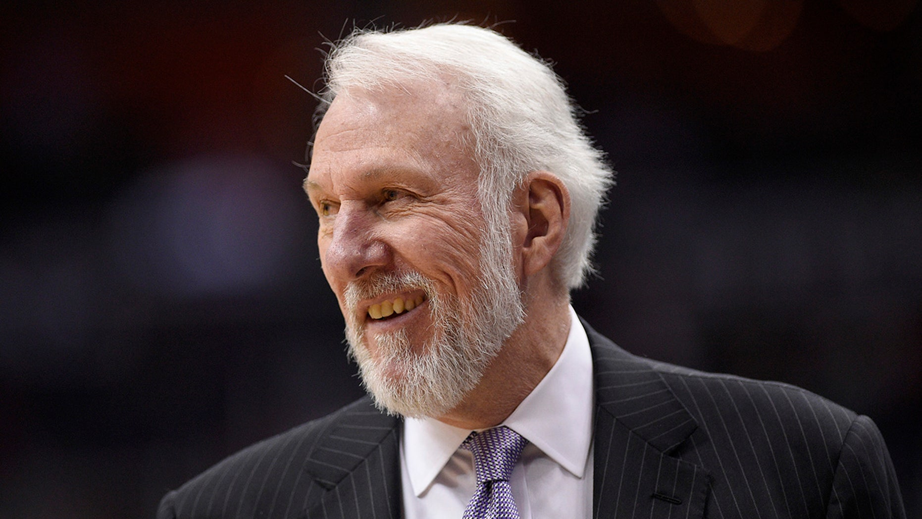 San Antonio Spurs coach Gregg Popovich sounded off on the Second Amendment Tuesday night.