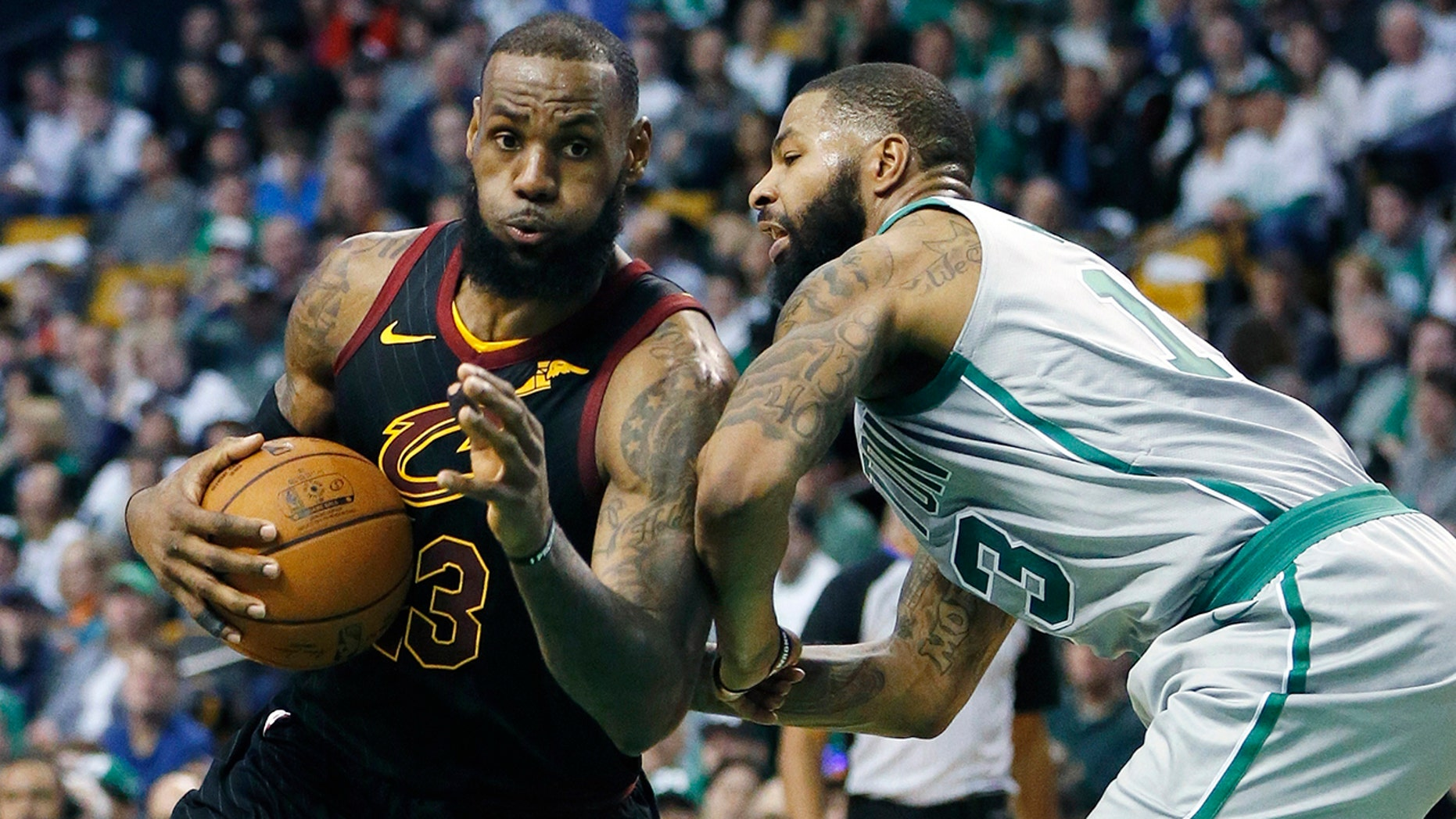 LeBron James recalls the opening of the fourth quarter against the Boston Celtics.