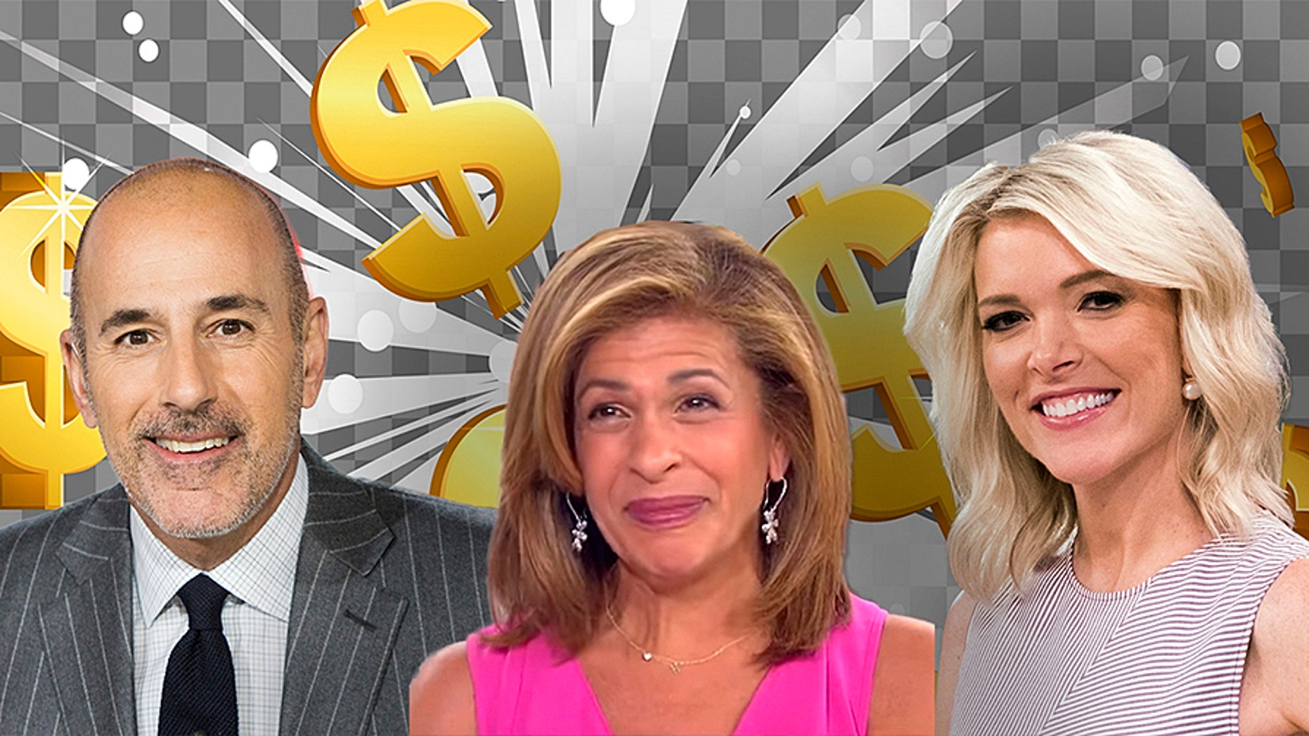 Hoda Kotb is reportedly being paid millions less per year than her predecessor Matt Lauer and coworker Megyn Kelly.