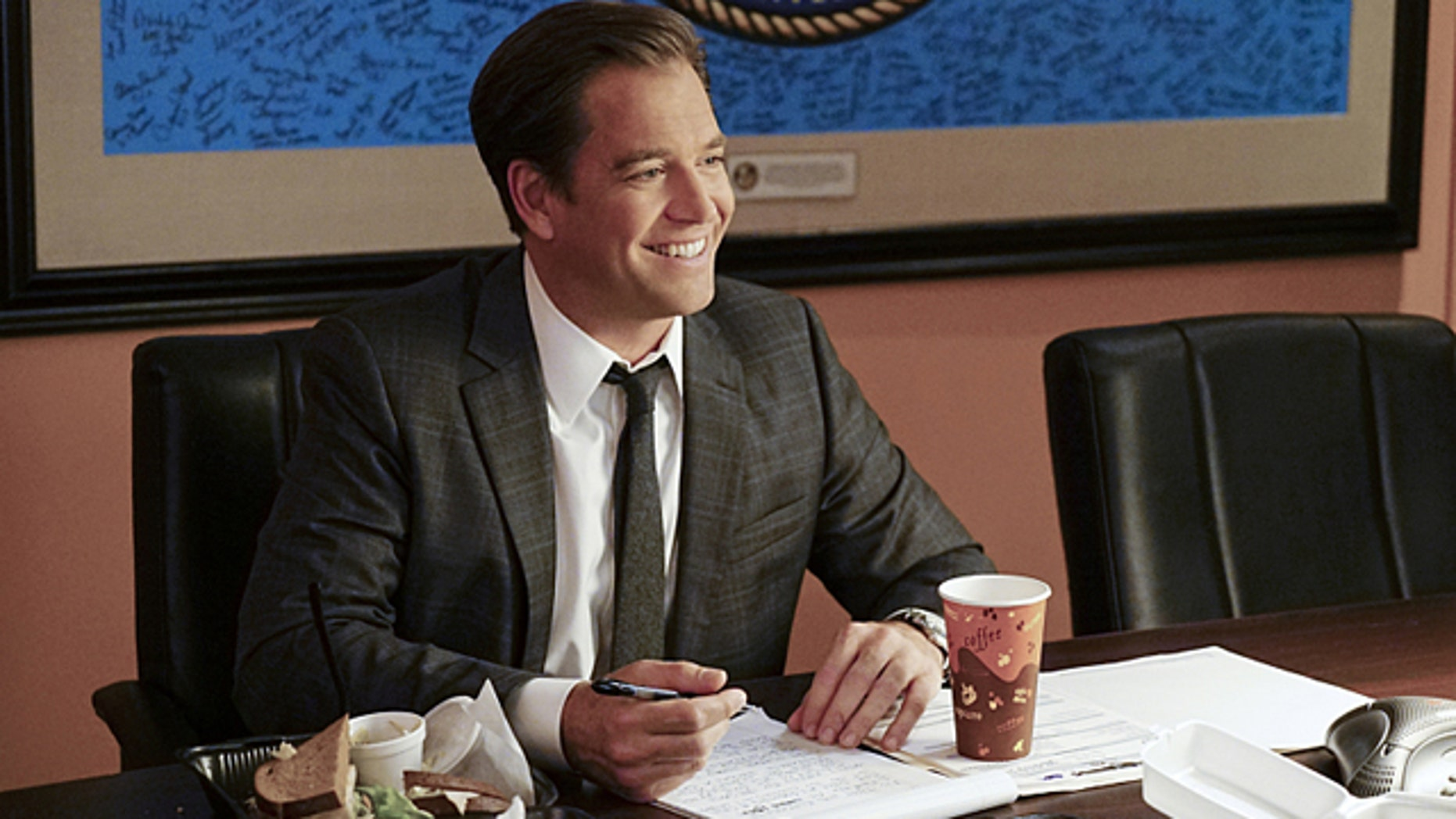 Michael Weatherly as Special Agent Tony DiNozzo on NCIS Photo: Sonja Flemming/CBS ©2016 CBS Broadcasting, Inc. All Rights Reserved