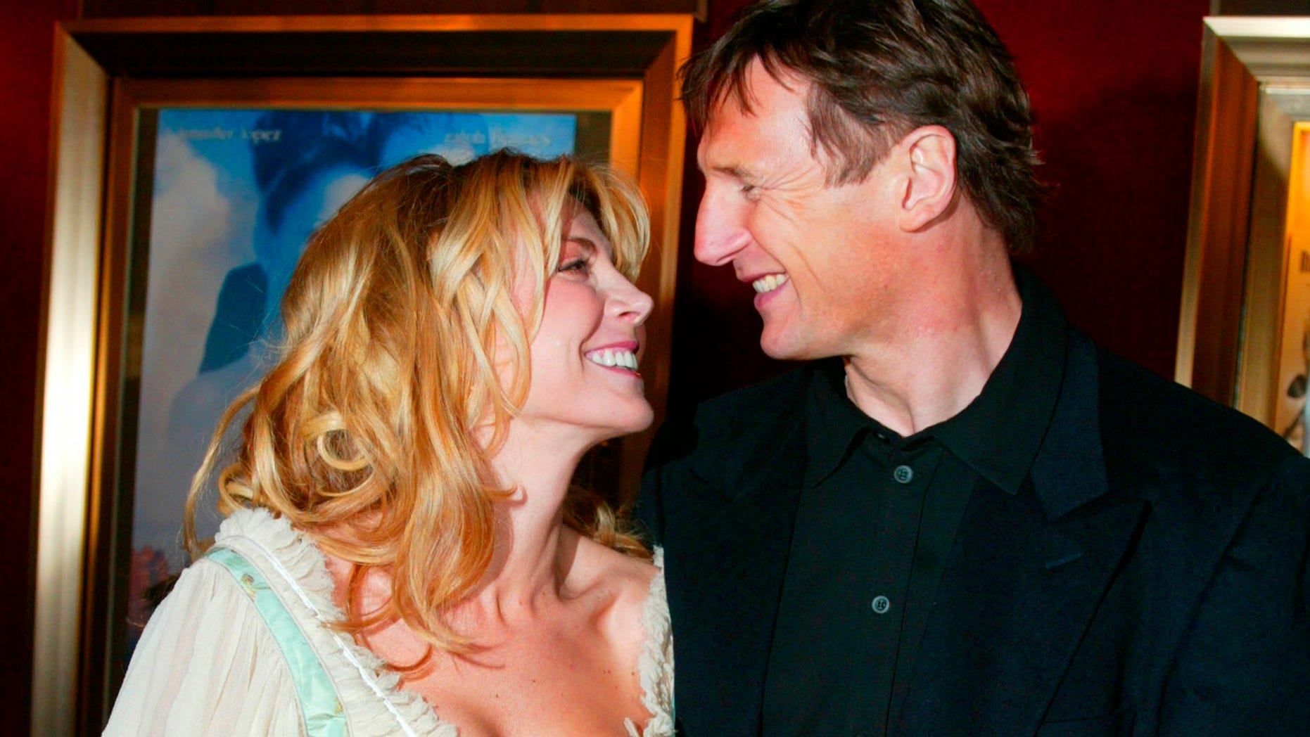 "December 8, 2002. Natasha Richardson and her husband, actor Liam Neeson, arrive at the world premiere of the film, ""Maid in Manhattan,"" in New York City."