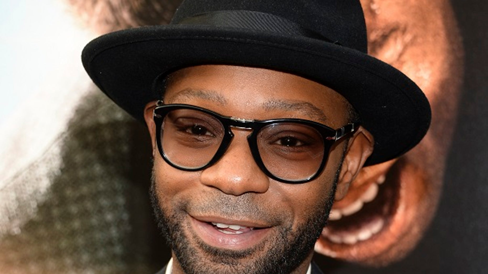 """July 14, 2014: In this file photo, actor Nelsan Ellis attends the world premiere of """"Get On Up"""" at the Apollo Theater in New York."""