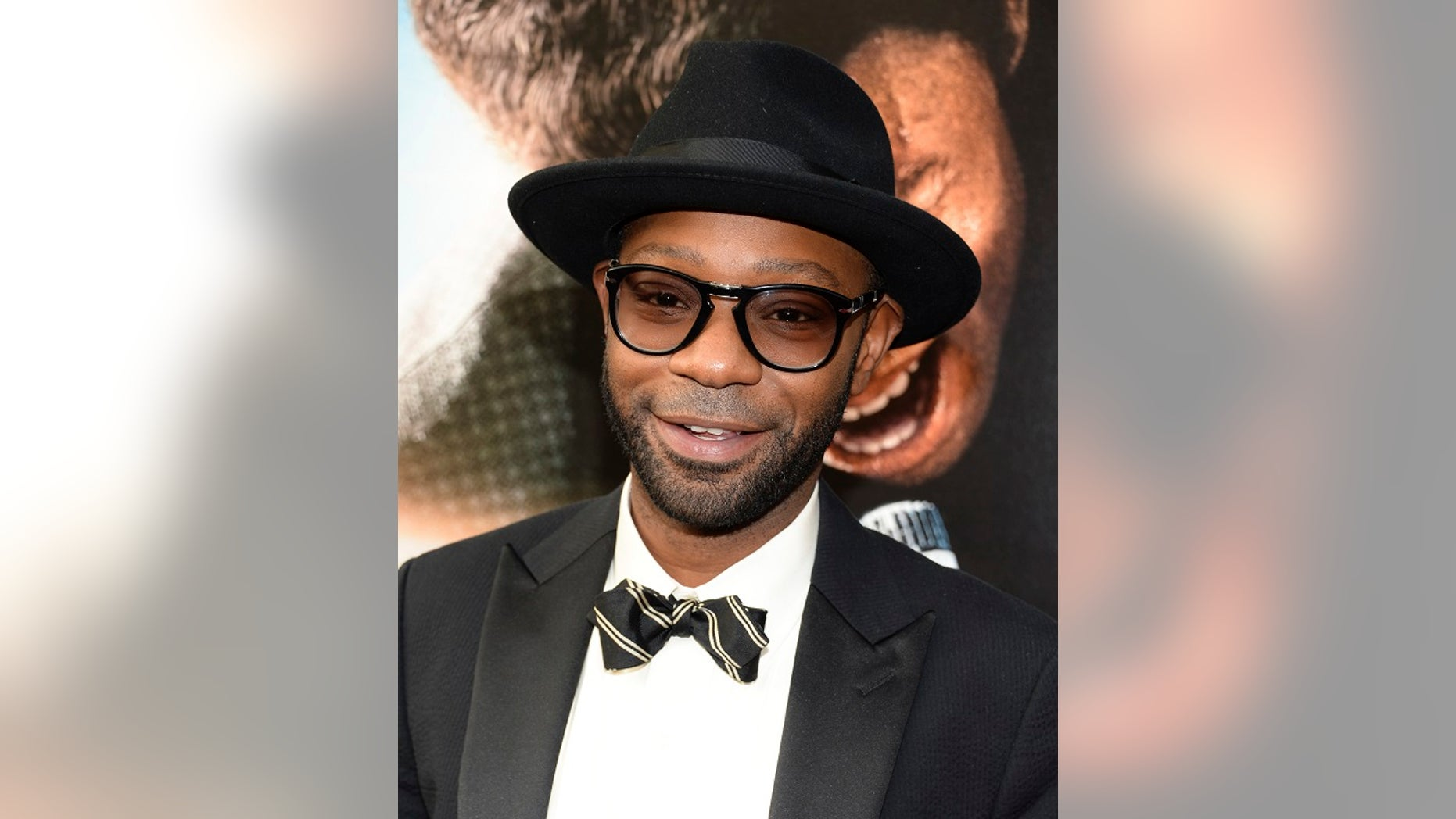 "July 14, 2014: In this file photo, actor Nelsan Ellis attends the world premiere of ""Get On Up"" at the Apollo Theater in New York."