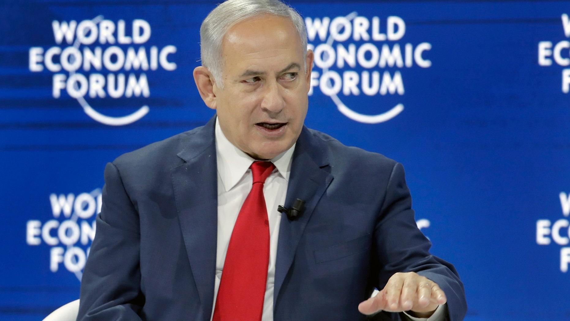Israeli Prime Minister Benjamin Netanyahu in January.