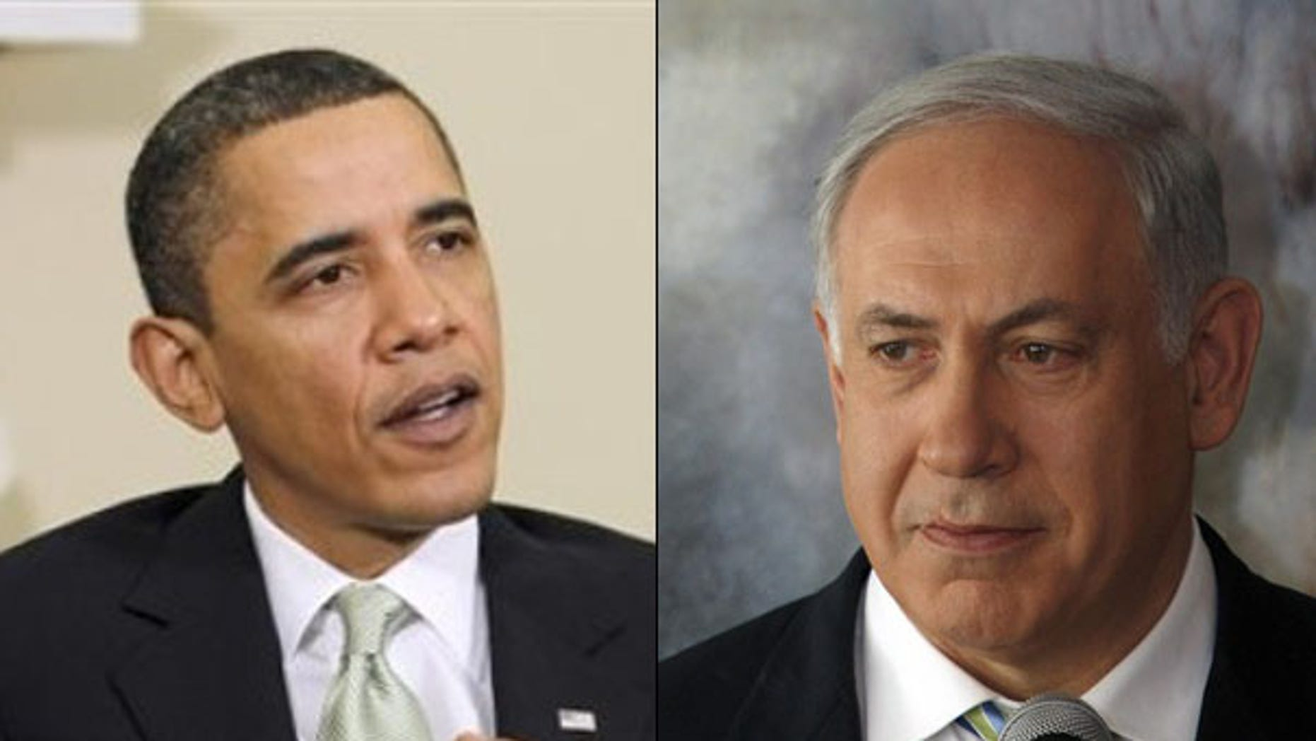 President Obama and Israeli Prime Minister Benjamin Netanyahu, right, are expected to meet March 23. (AP/Reuters Photos)