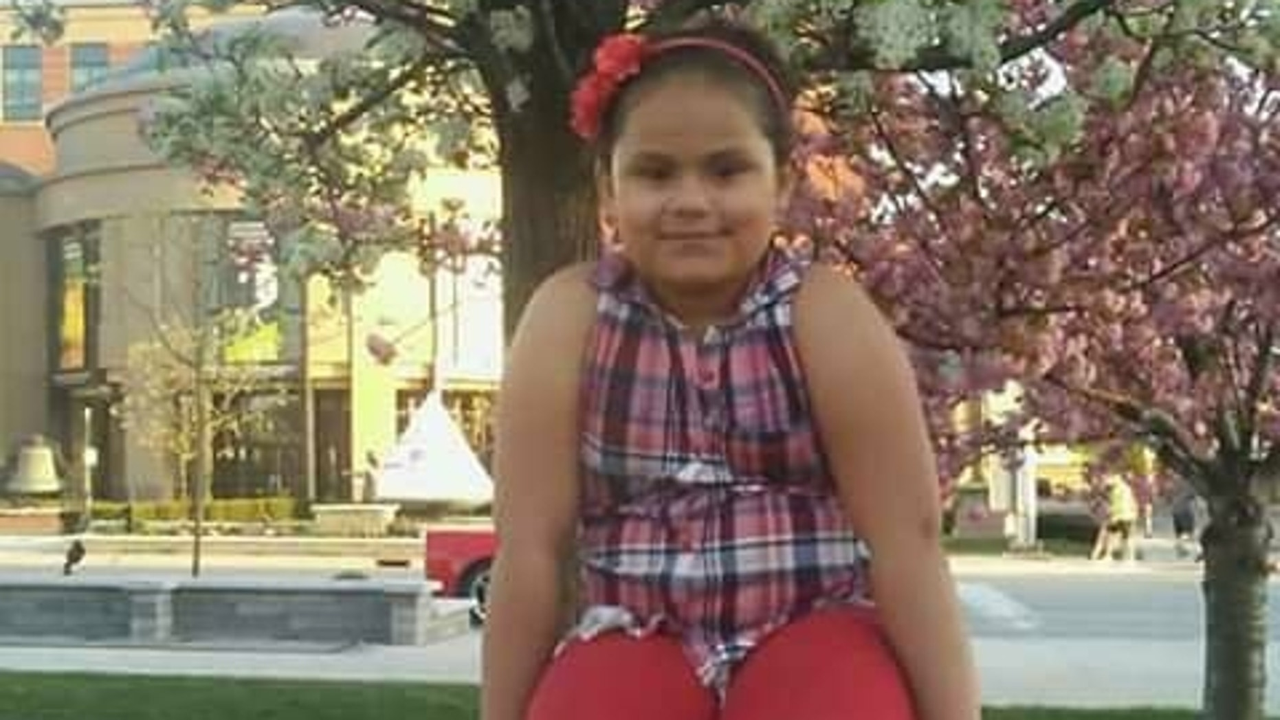Nevaeh Alston, 8, was delivering food to the homeless Tuesday night when she was struck by a car.