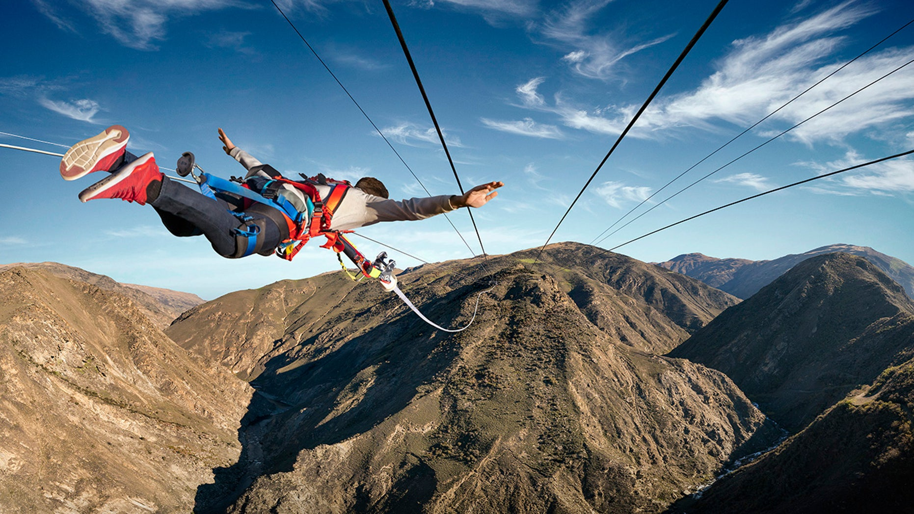 """The Nevis Catapult is billed as """"the biggest and most extreme catapult in the world."""""""