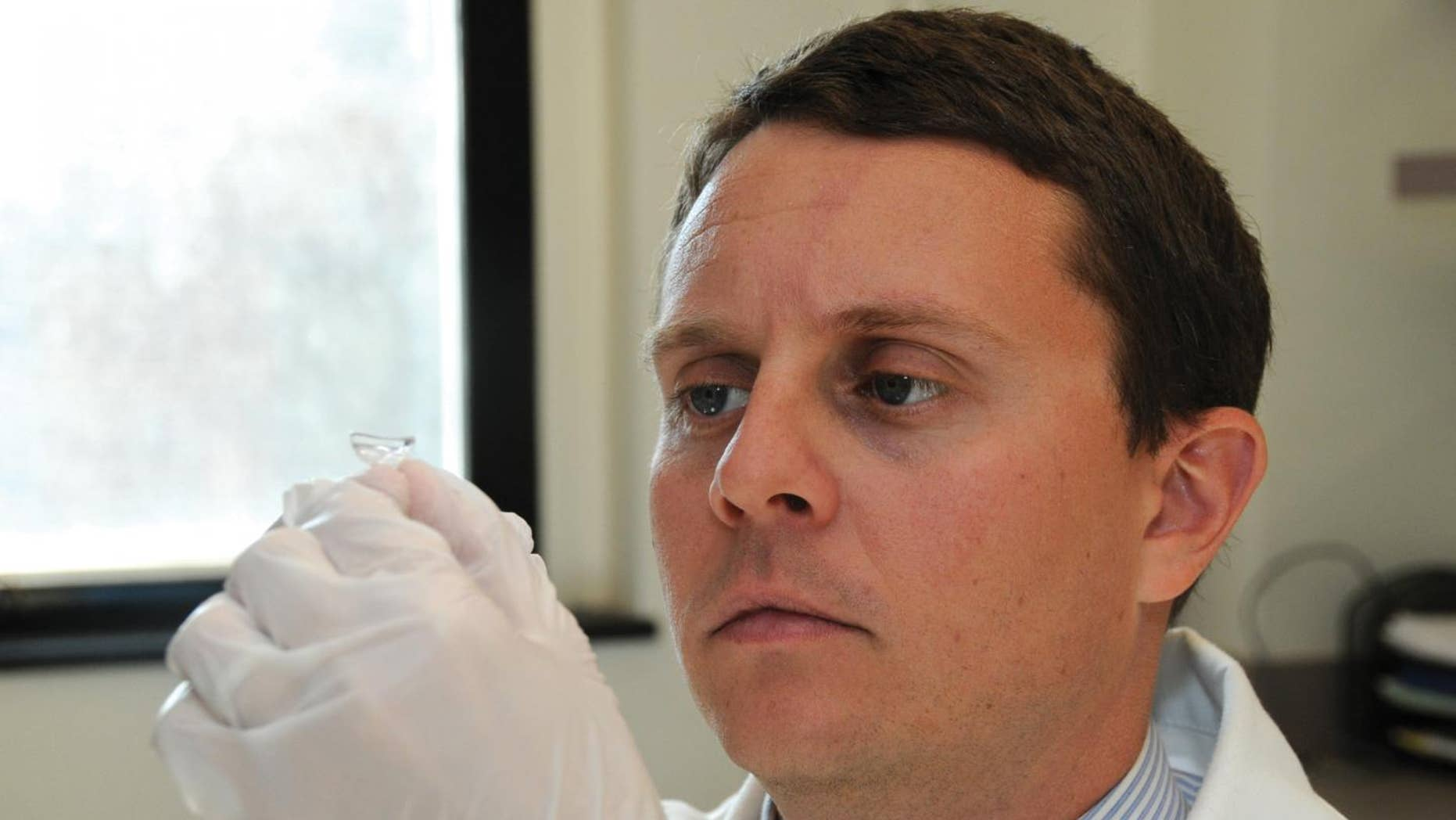 A contact lens designed to deliver medication gradually to the eye may improve outcomes for patients who struggle with imprecise, difficult to self-administer eye drops.