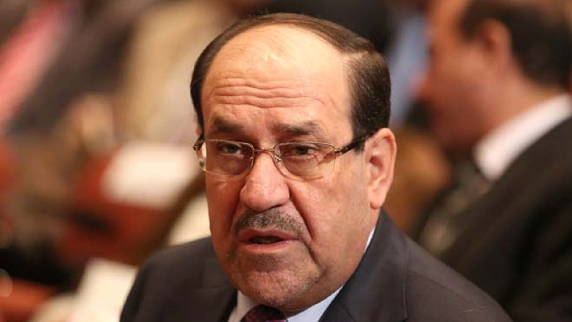 Sept. 8, 2014: Vice President Nouri al-Maliki, attends the Parliament session to submit his government in Baghdad, Iraq. (AP)