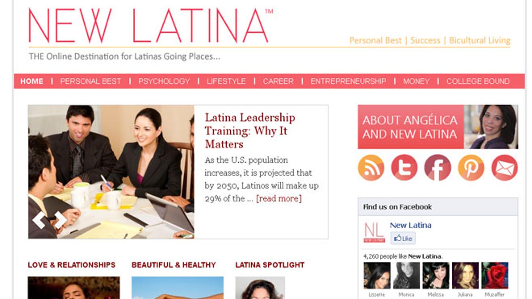 Best latina website