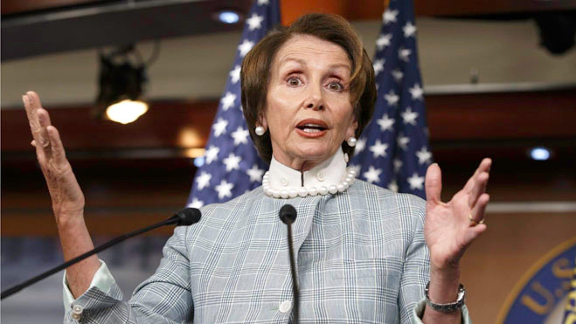 June 12, 2014: House Minority Leader Nancy Pelosi, D-Calif.