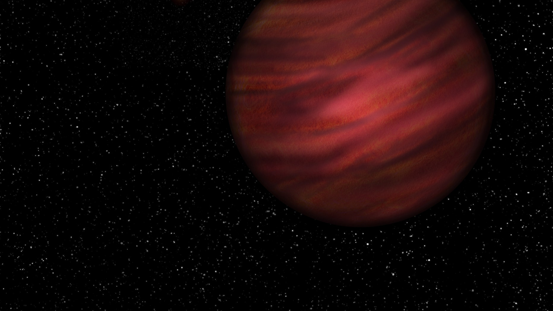 An artist's impression of 2MASS J2126. (University of Hertfordshire / Neil Cook)