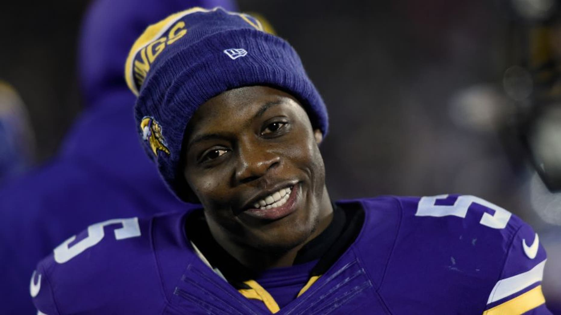 MINNEAPOLIS, MN - DECEMBER 27: Teddy Bridgewater #5 of the Minnesota Vikings looks on during the fourth quarter of the game against the New York Giants on December 27, 2015 at TCF Bank Stadium in Minneapolis, Minnesota. The Vikings defeated the Giants 49-17. (Photo by Hannah Foslien/Getty Images)