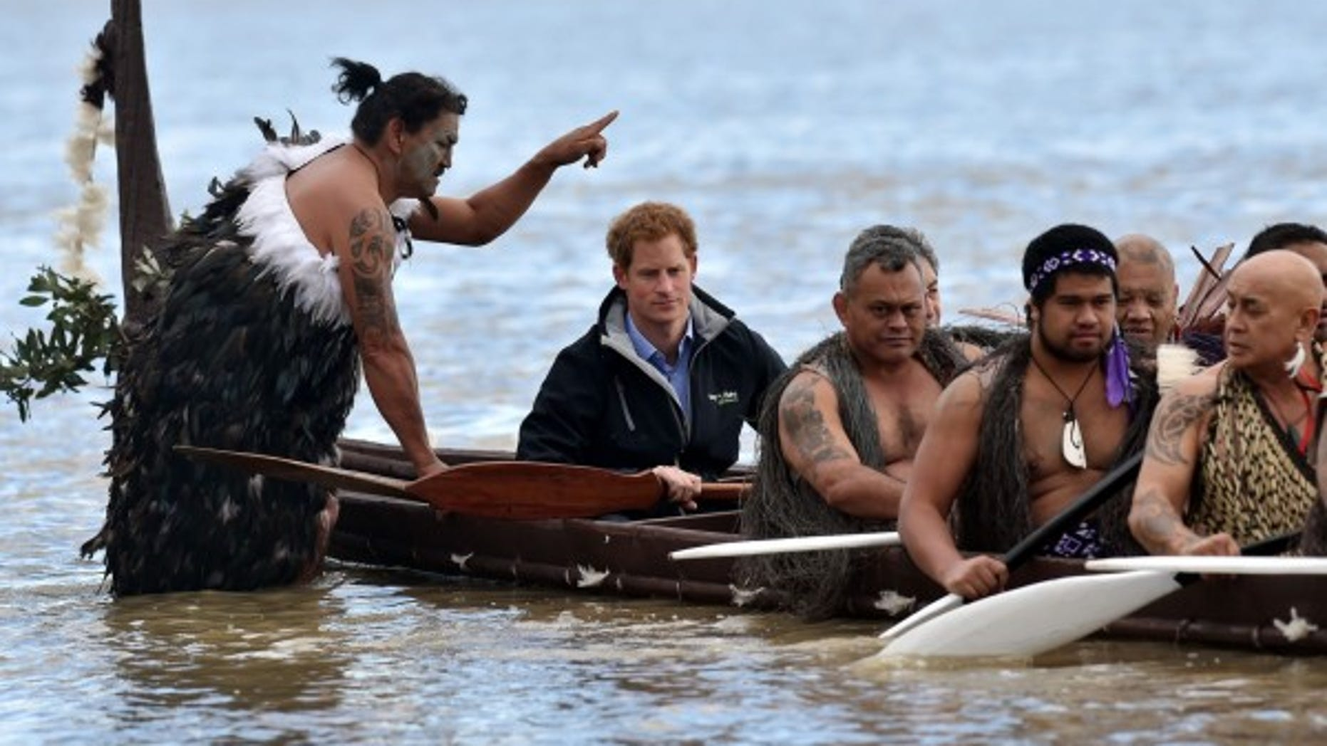 Britain's Prince Harry visited the river in 2015.