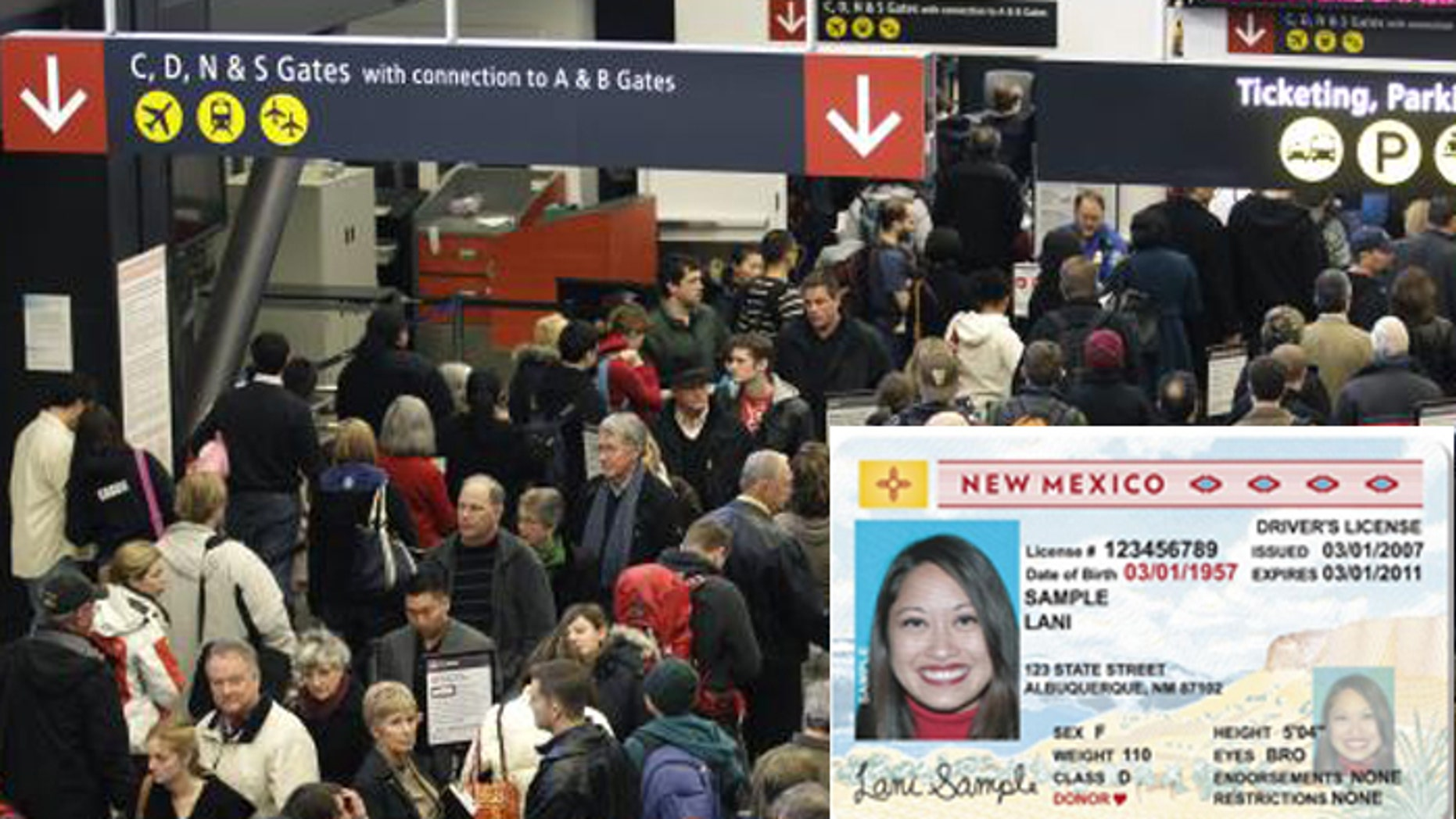 Passport, please: New Mexico air travelers won't be able to board planes using just a state driver's license after the federal government denied further postponement with REAL ID Act compliance.