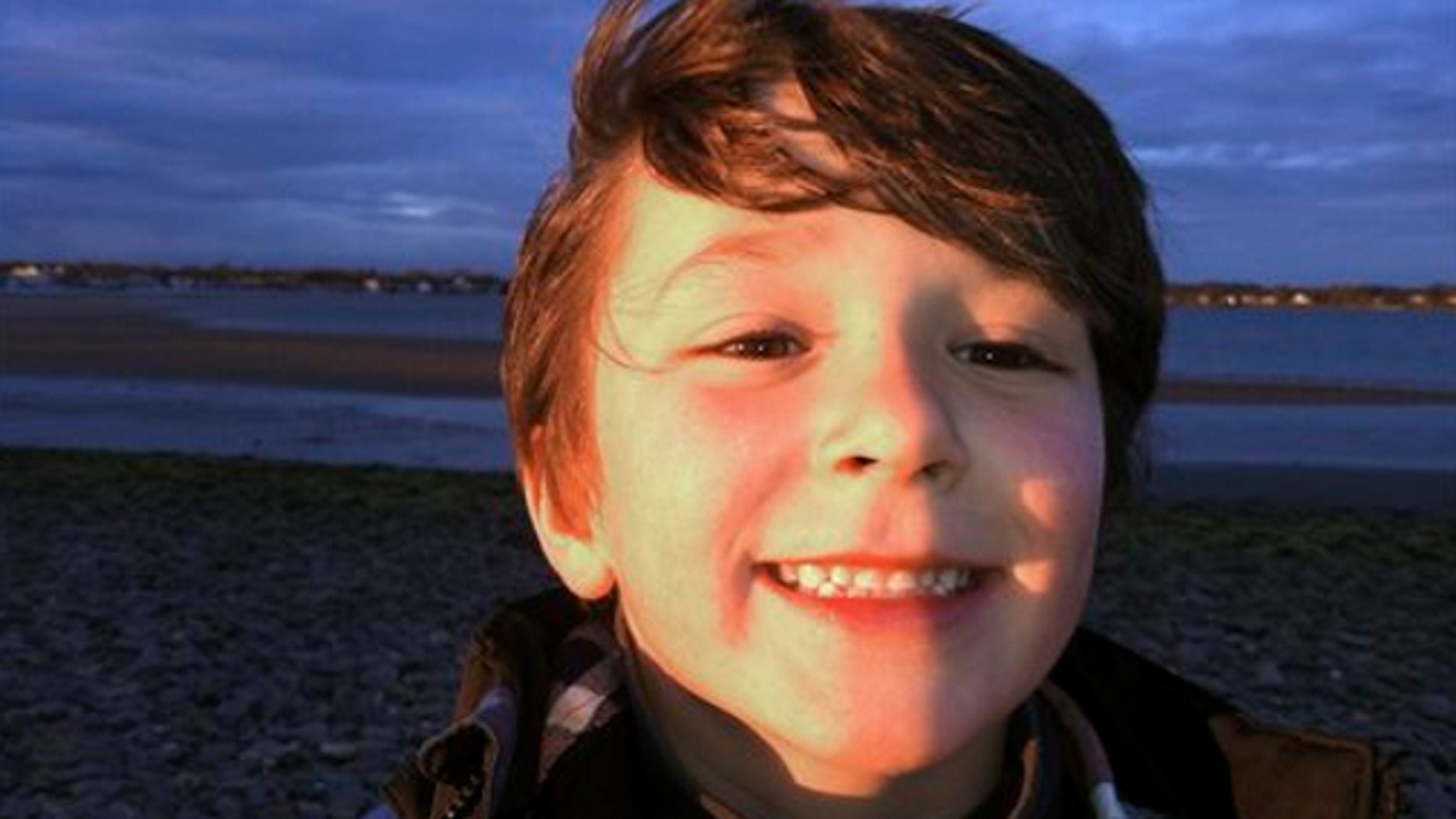 FILE: This autumn 2011 photo provided by the Jesse Lewis Choose Love Foundation shows Jesse Lewis, who was slain in the shooting at Sandy Hook Elementary School on Dec. 14, 2012, in Newtown, Conn.