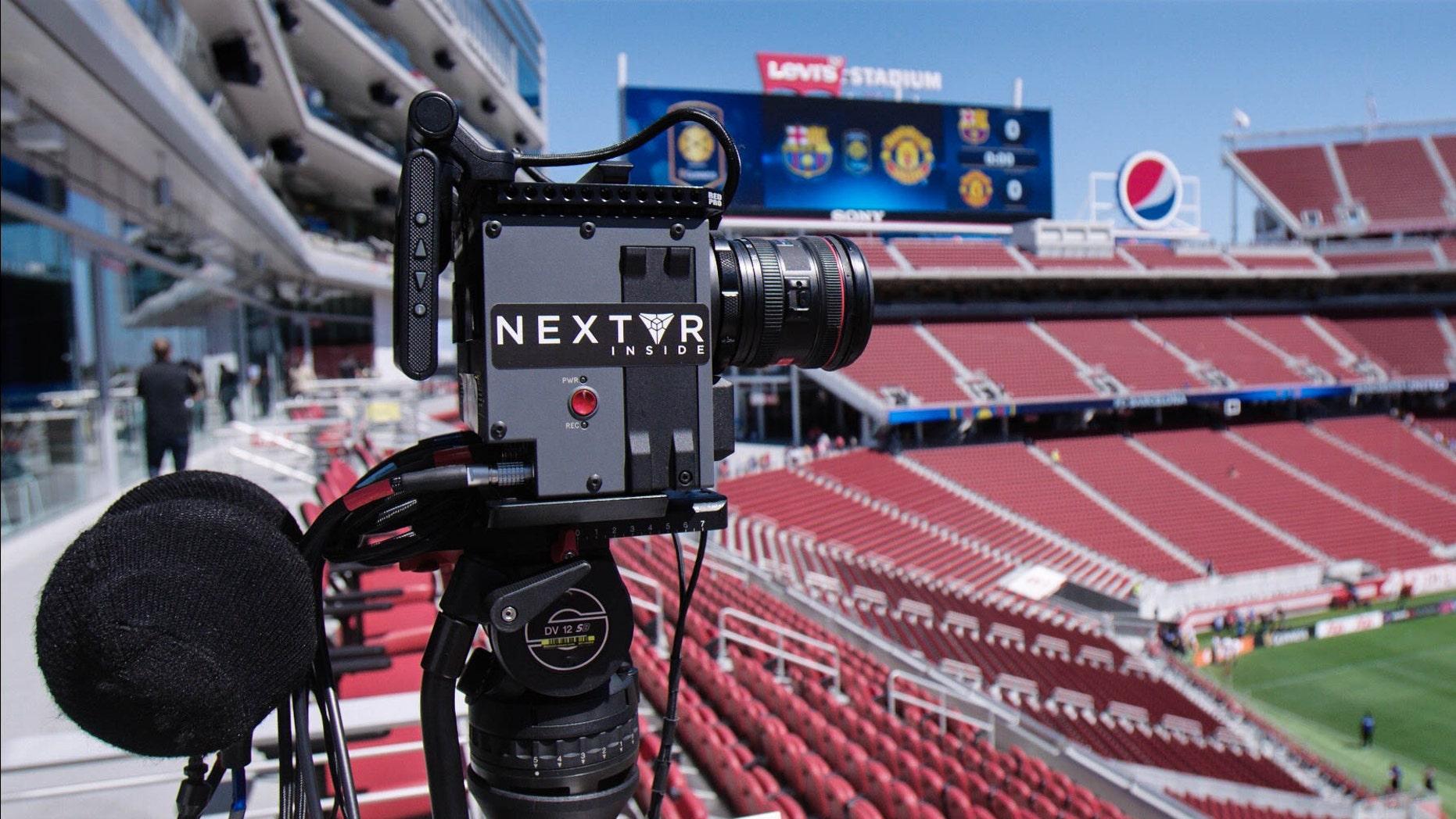 File photo of a NextVR camera (NextVR).