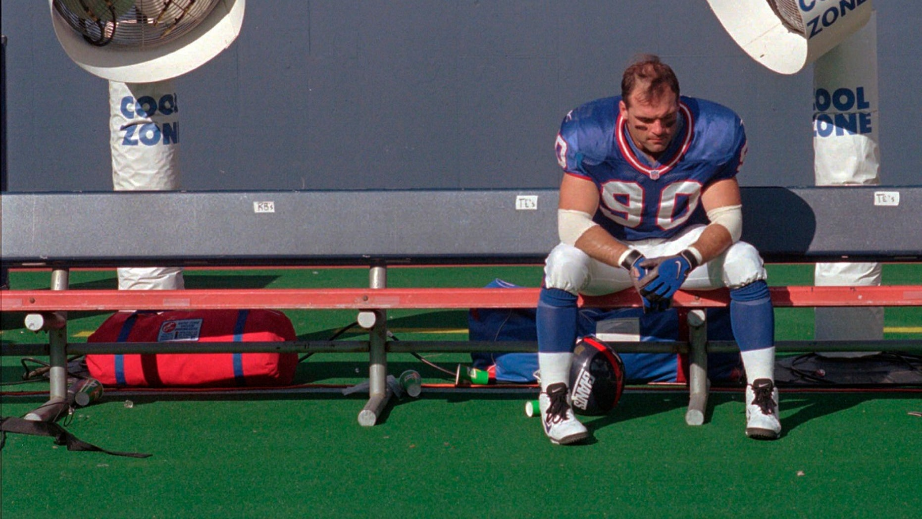 """Former New York Giants linebacker Corey Widmer said concussions he suffered while playing football """"destroyed my life."""""""