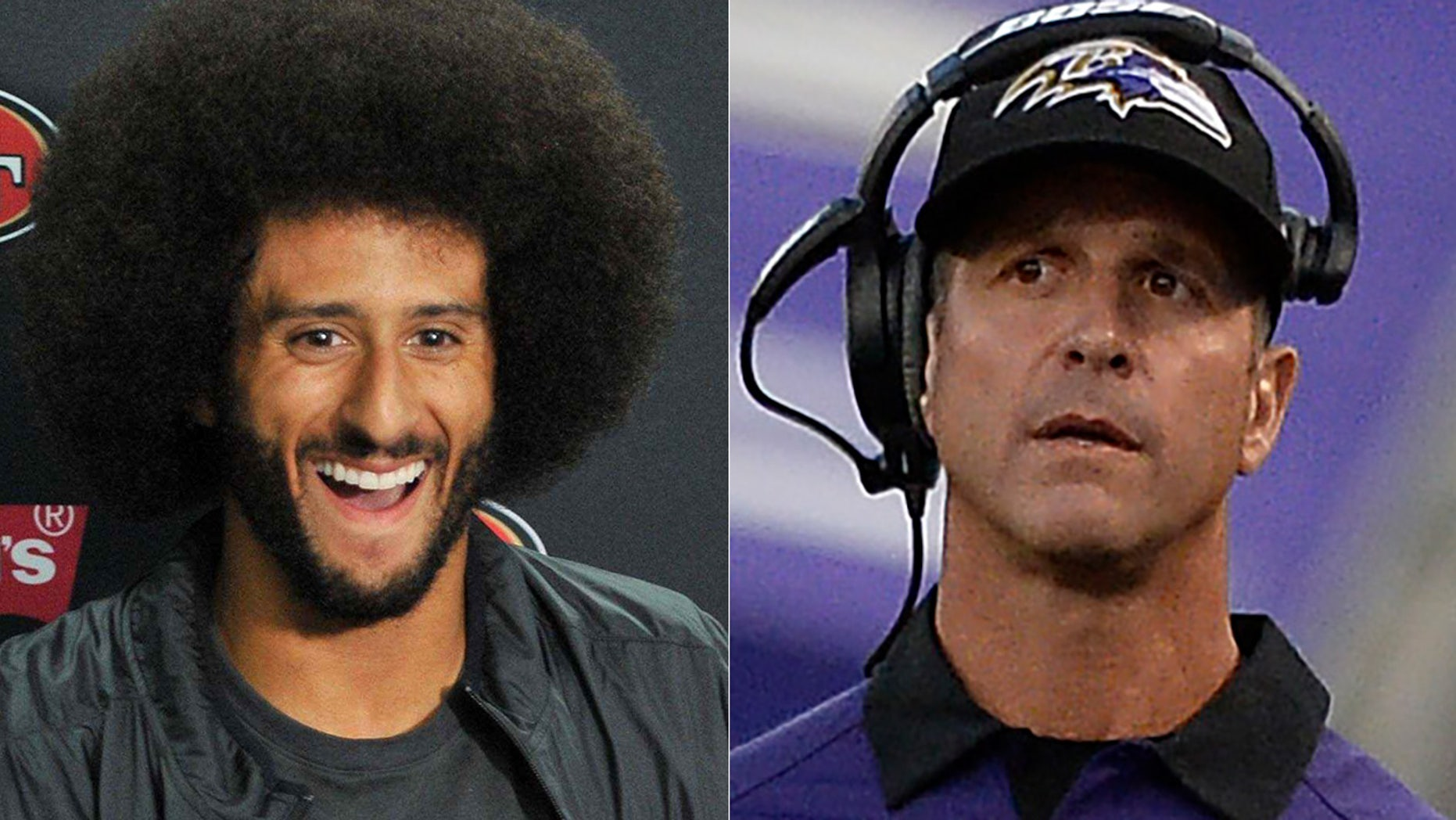 Colin Kaepernick's grievance case is reportedly targeting Ravens coach John Harbaugh and GM Ozzie Newsome.