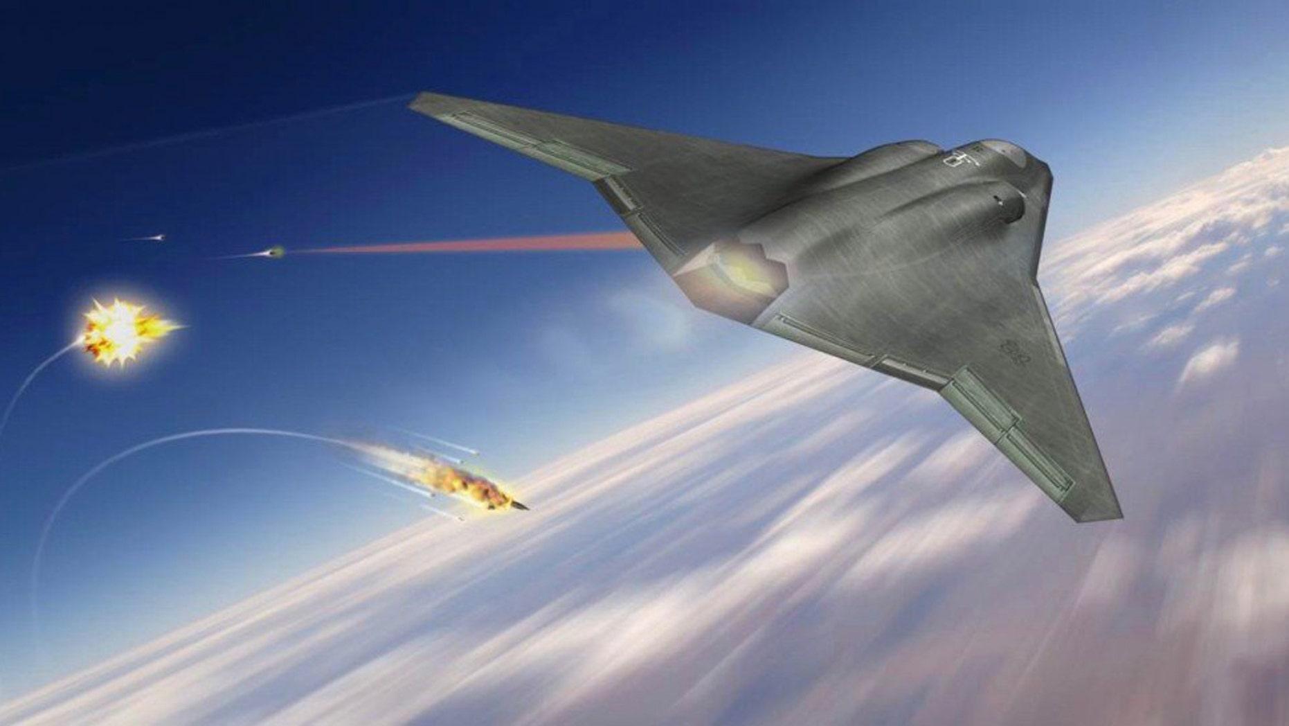 Artist's concept of NG Air Dominance (Northrop Grumman).