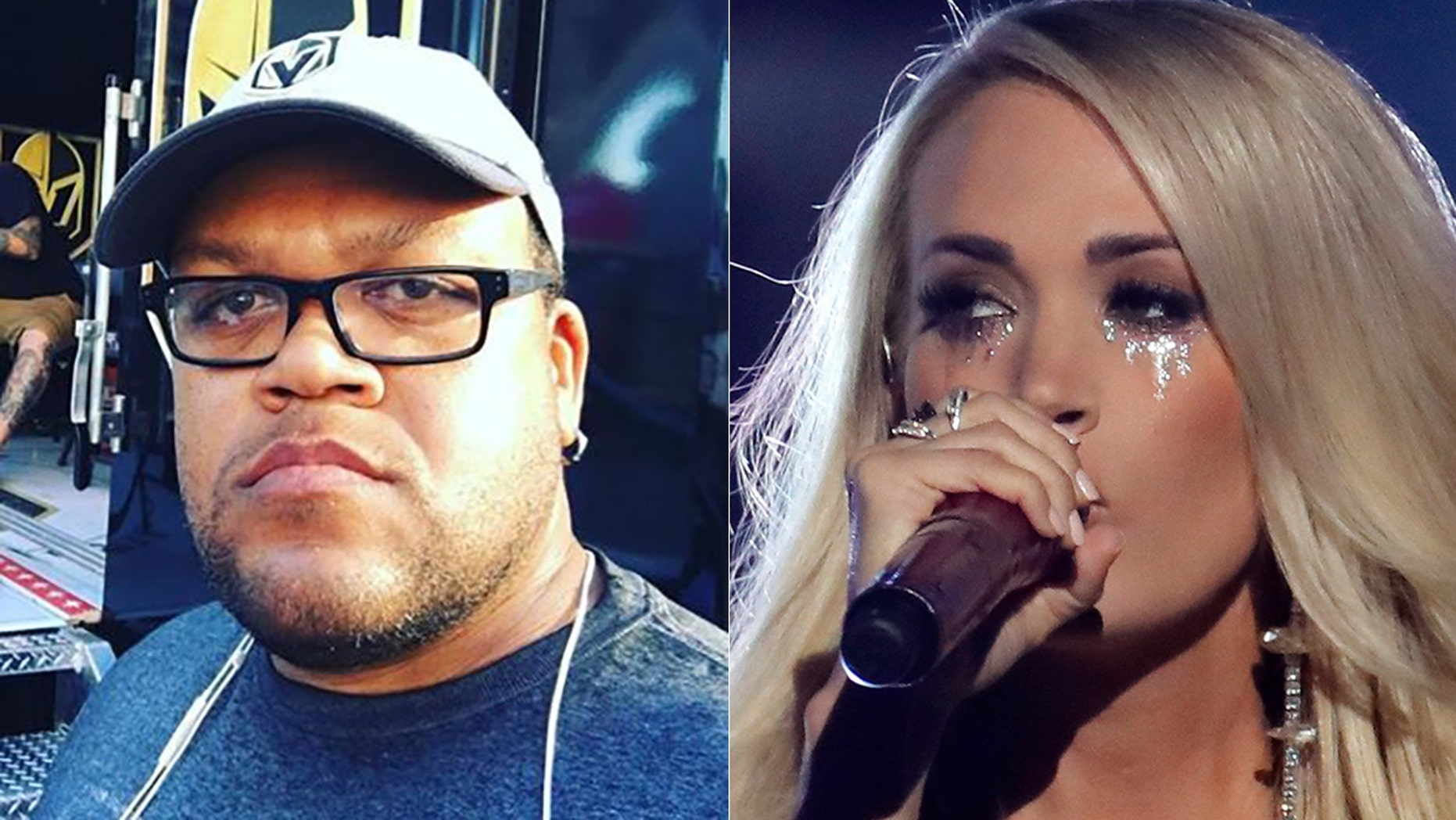 """Carnell """"Golden Pipes"""" Johnson chided Carrie Underwood in an Instagram post."""
