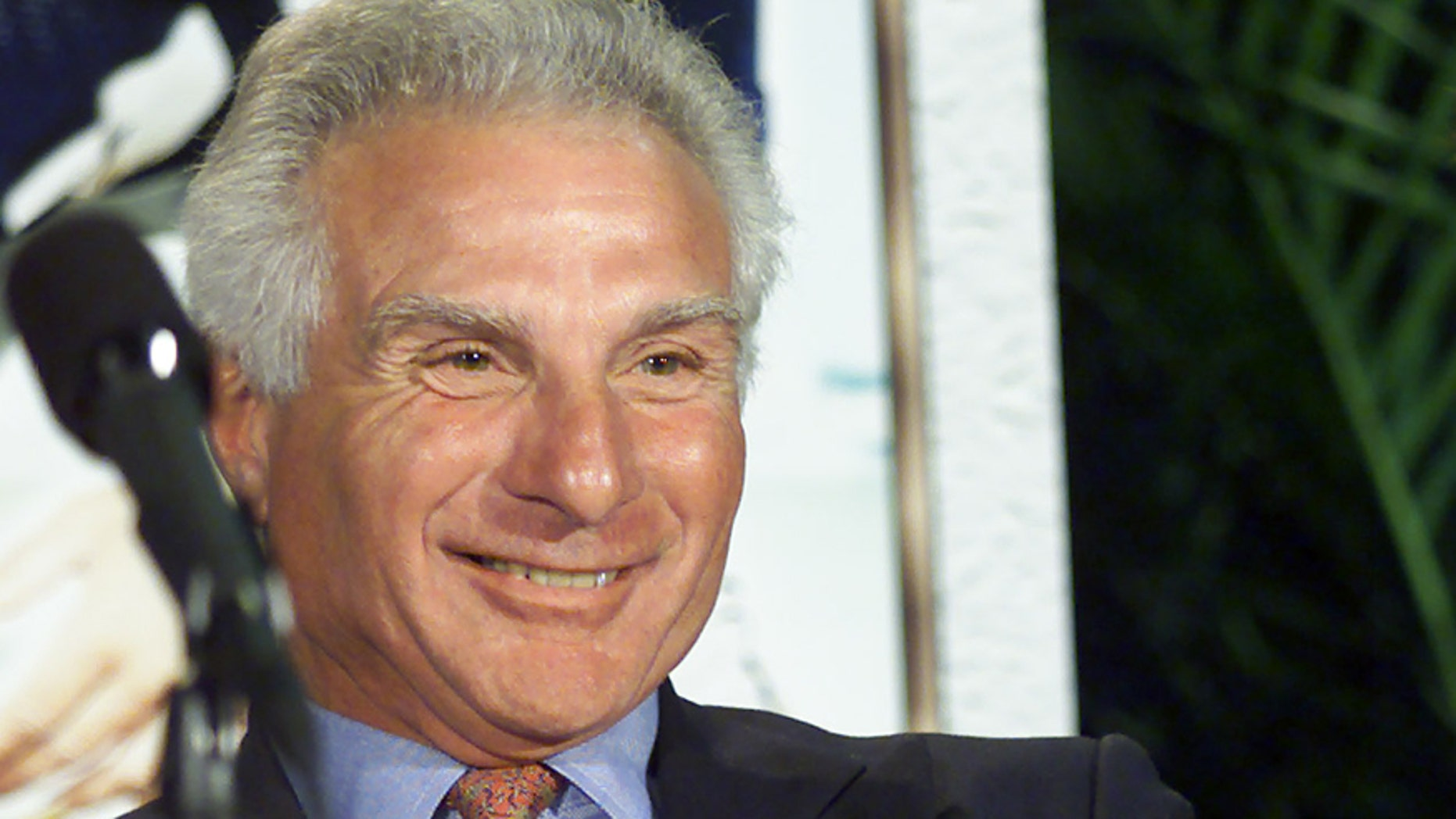 Jan. 27, 2001: Former New England Patriots and Miami Dolphins linebacker Nick Buoniconti is pictured after learning that he had been elected to the Pro Football Hall of Fame.