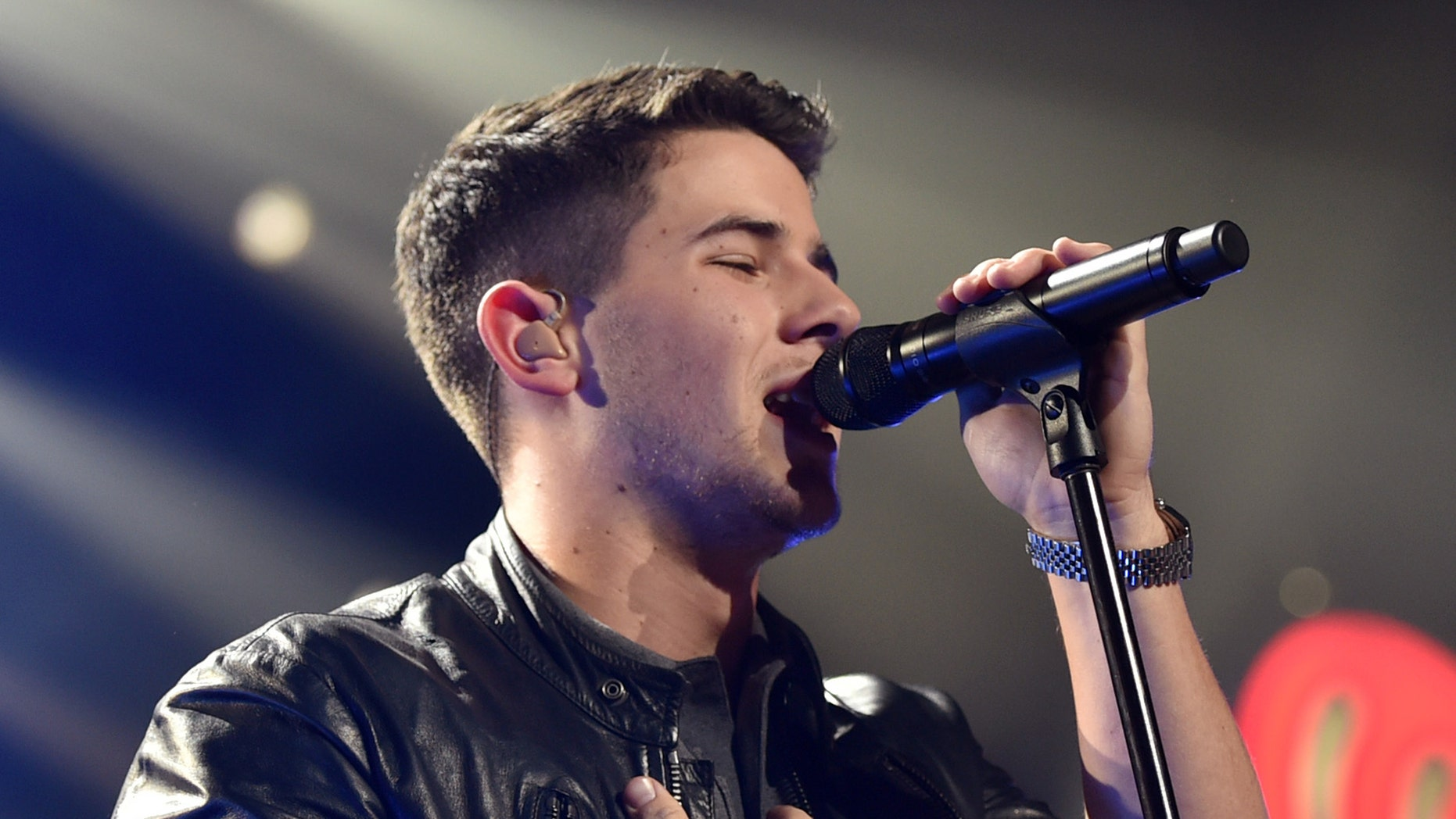 Dec 5, 2014. Nick Jonas performs at the KIIS FM's Jingle Ball at the Staples Center in Los Angeles.