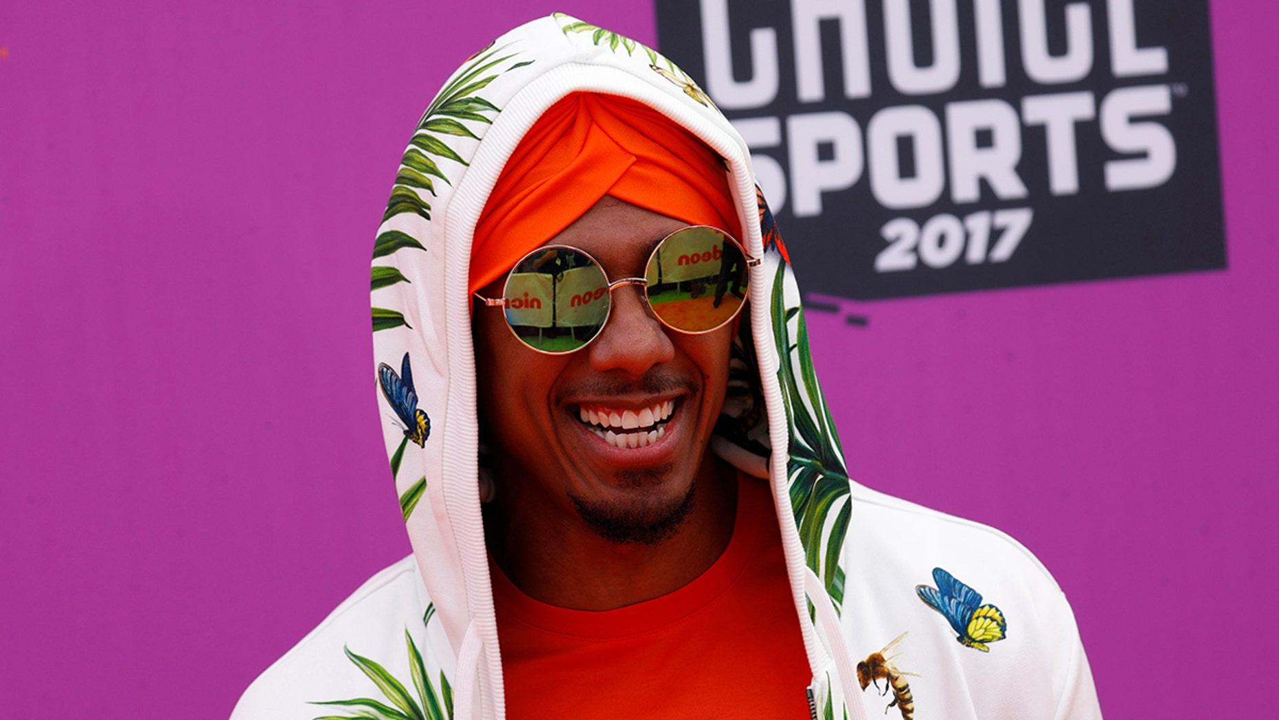 2017 Kids Choice Sport Awards – Arrivals – Los Angeles, California, U.S., 13/07/2017 - Entertainer Nick Cannon. REUTERS/Patrick T. Fallon - HP1ED7D1T944X
