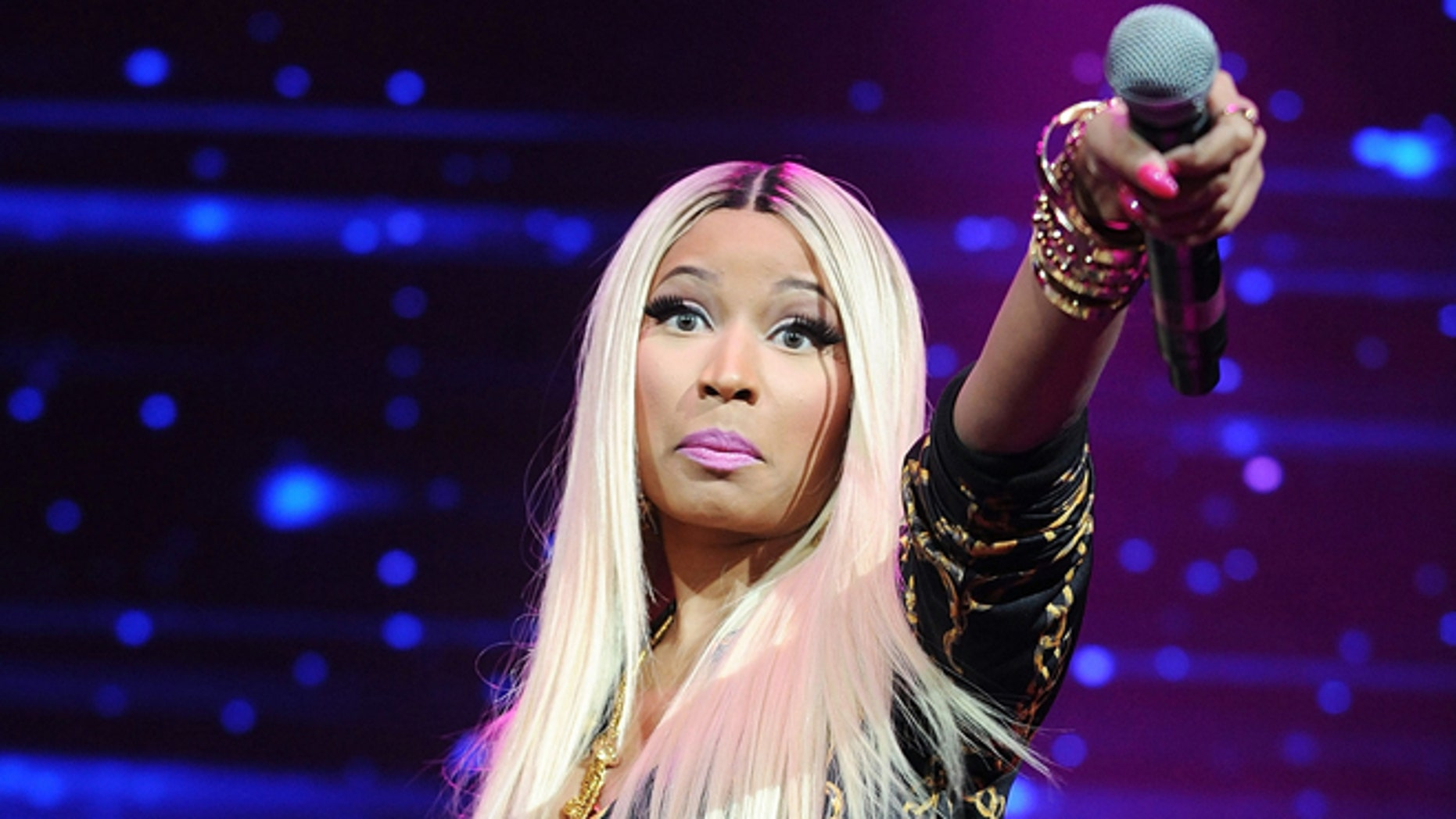 Nov. 2, 2013: Hip-hop artist Nicki Minaj performs at the Power 105.1's Powerhouse Concert at the Barclays Center in New York.