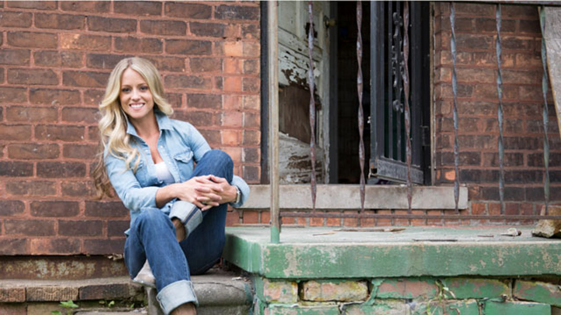 Nicole Curtis took to Instagram on Monday to share a photo of herself working at one of her first jobs.