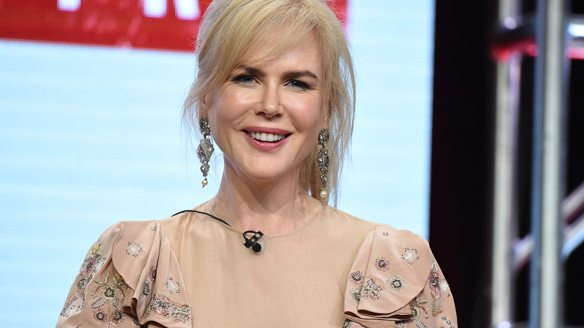 "Nicole Kidman participates in the ""Top of the Lake: China Girl"" panel during the AMC and Sundance TV Television Critics Association Summer Press Tour at the Beverly Hilton on Saturday, July 29, 2017, in Beverly Hills, Calif."