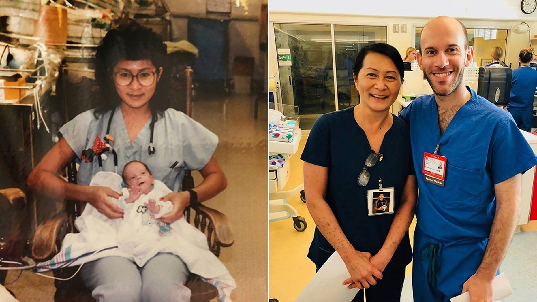 Vilma Wong and Brandon Seminatore first met in 1990 when he was born weighing 2 pounds, 6 ounces.