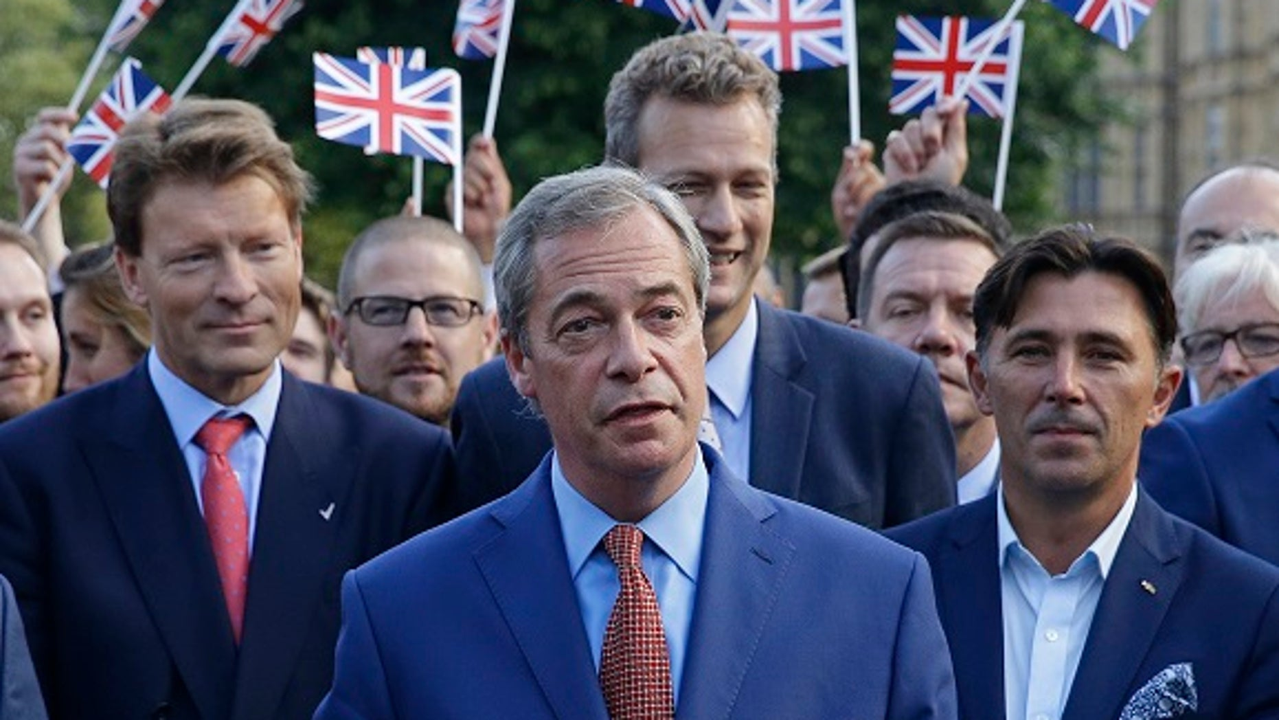 Nigel Farage suggested the UK should hold a second 'Brexit' vote to end 'whining' by politicians who opposed leaving the European Union.